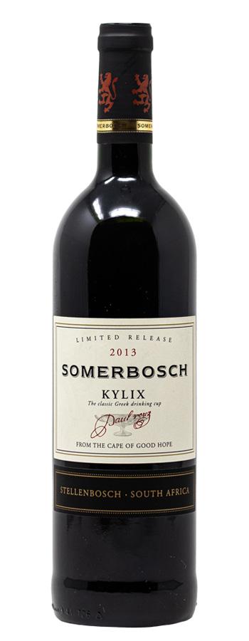 2013 Somerbosch Kylix Rotwein trocken aus Südafrika