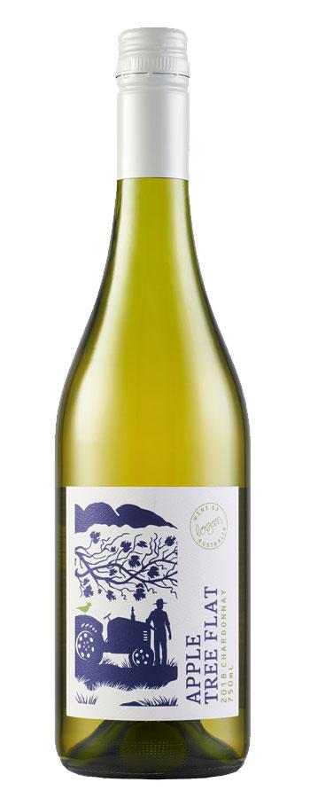2017 Apple Tree Flat Chardonnay Weißwein aus Australien