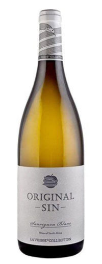 2018 La Vierge Original Sin Sauvignon Blanc Weißwein trocken aus Südafrika