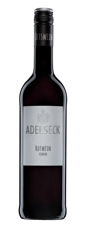 2017 Adelseck Münsterer Rotwein feinherb aus Sarmsheim an der NAhe in Deutschland