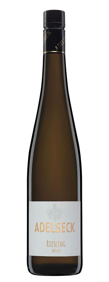 2017 Adelseck Riesling Auslese Münsterer Dautenpflänzer Weißwein lieblich aus Sarmsheim an der Nahe in Deutschland