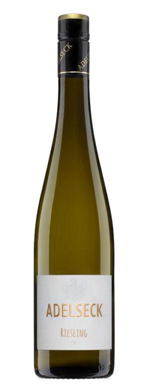 2017 Adelseck Riesling -S- Münsterer Dautenpflänzer Weißwein trocken aus Sarmsheim an der Nahe in Deutschland