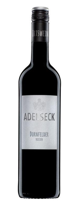 2018 Adelseck Dornfelder Rotwein trocken aus Sarmsheim an der NAhe in Deutschland