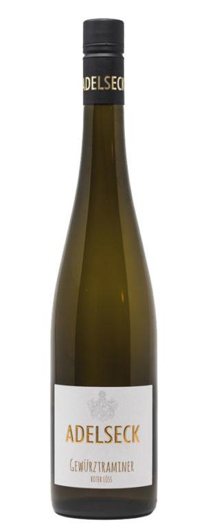 2019 Adelseck Gewürztraminer Weißwein feinherb aus Sarmsheim an der Nahe in Deutschland