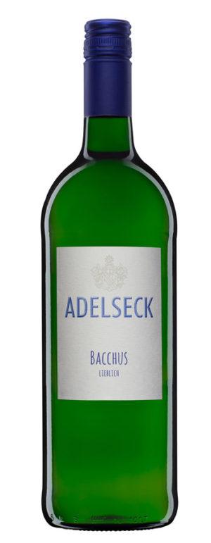 Adelseck Bacchus Qualitätswein Weißwein lieblich aus Sarmsheim an der Nahe in Deutschland