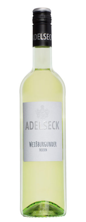2019 Adelseck Weißburgunder Qualitätswein trocken aus Sarmsheim an der NAhe in Deutschland