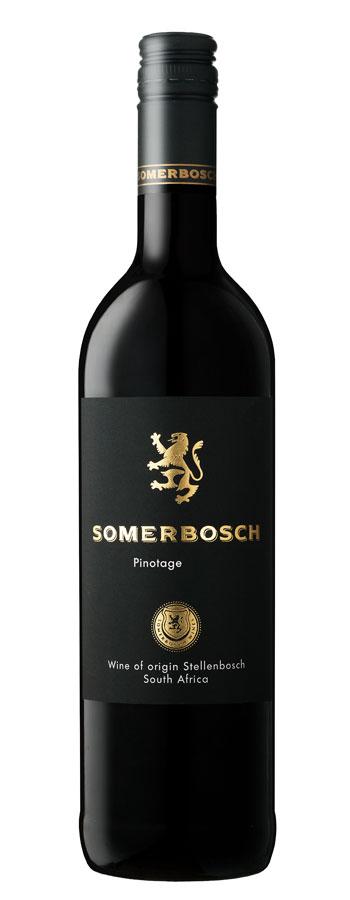 2015 Somerbosch Pinotage Rotwein trocken aus Südafrika