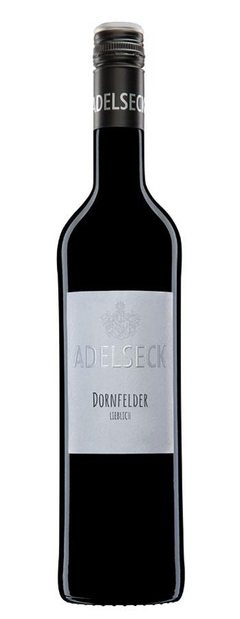 2018 Adelseck Dornfelder Rotwein lieblich aus Sarmsheim an der NAhe in Deutschland