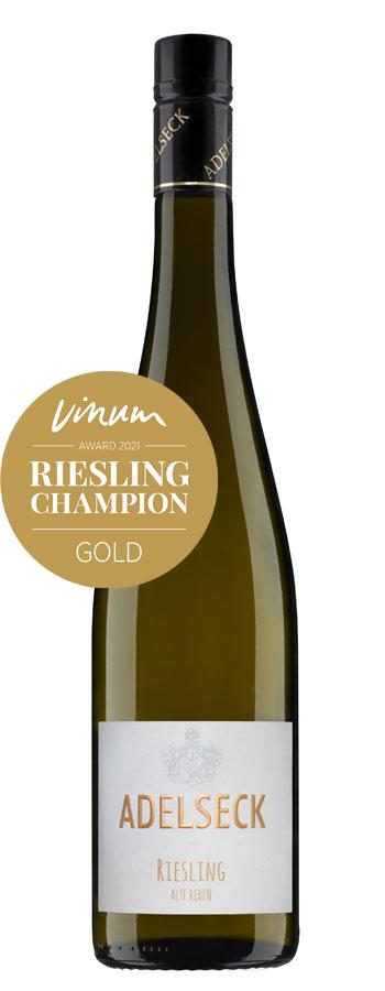 2020 Adelseck Riesling Alte Reben Weißwein trocken aus Sarmsheim an der Nahe in Deutschland